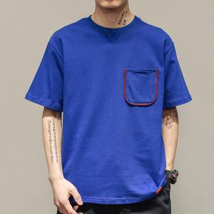 men garments heavy cotton t shirts white plain t-shirts cheap wholesale oversize fit half sleeve t shirt