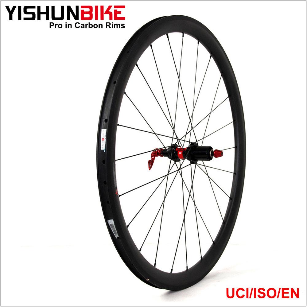 2016 yishun un meilleur 700c v lo de route 55mm pneu 240 s hubs aero v lo tace carbone. Black Bedroom Furniture Sets. Home Design Ideas