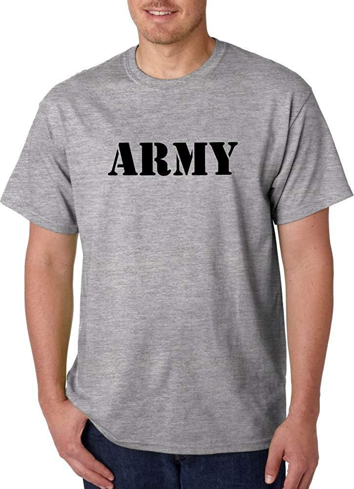 5b56edf8dfea Get Quotations · US Army Tee Physical Fitness Uniform Tshirts