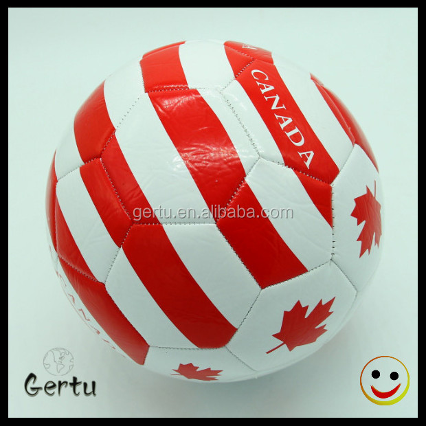 2014 world cup promotional cheap pvc leather soccer ball
