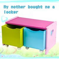 children toys new 2016 style Removable drawer storage Wooden box lockers for Children top quality