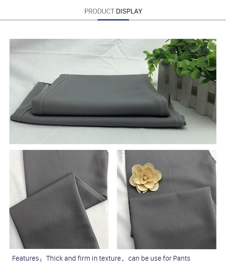 Custom Cotton Polyester Elastic Double Layer Cloth Fabric