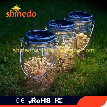 Large Gl Consol Solar Led Jar Lids