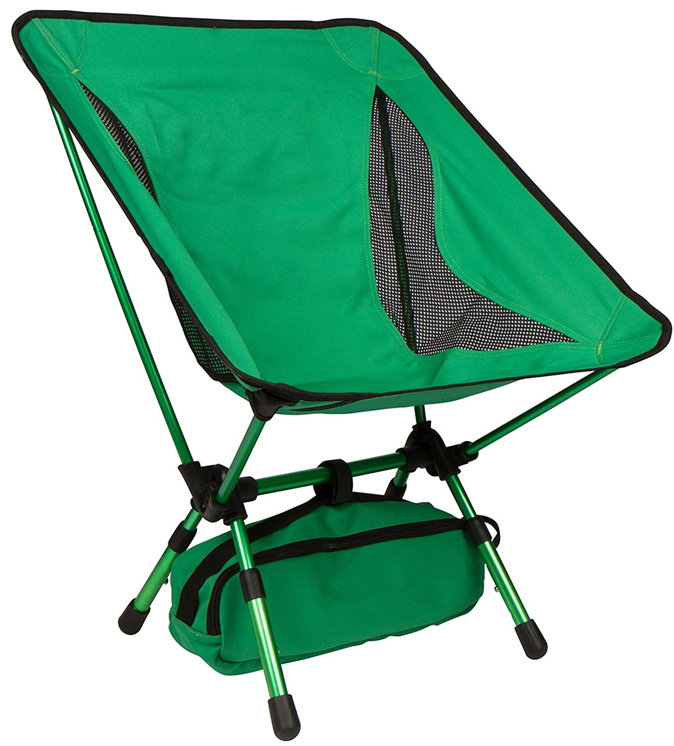 Portable Camping Chairs Adjustable Height pact Ultralight