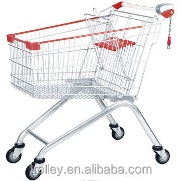 Best Selling Supermarket Metal Shopping Cart with good quality