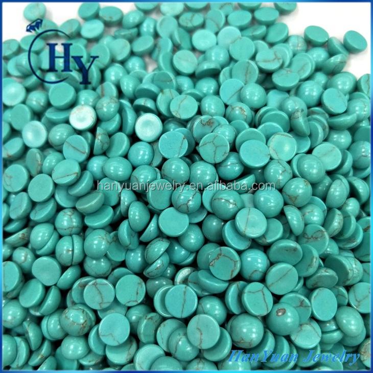 """Fine 12x12mm bleu ciel la Turquie Turquoise Round Loose Beads Bracelet 7.5/"""""""