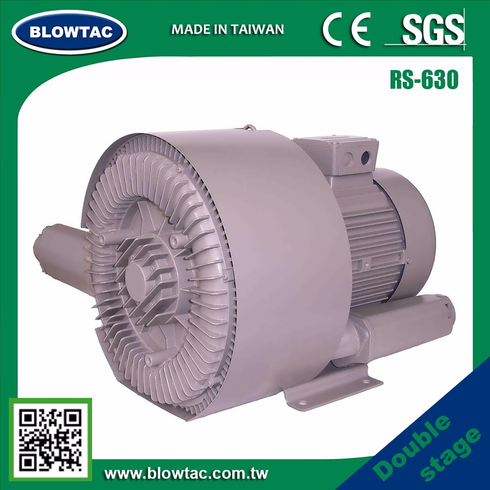 BLOWTAC RS-630-36 Hot Sale silent ring blower vacuum pump for cleaning snow