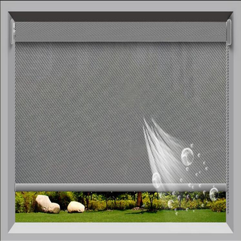 yuhong one way view sunscreen fabric for roller blinds. Black Bedroom Furniture Sets. Home Design Ideas