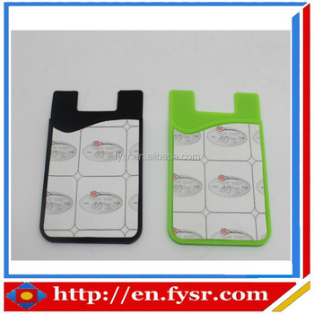 Newly 3m Sticker Silicone Mobile Phone Silicone Credit Card Holder ...
