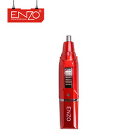 ENZO Professional rechargeable cheap beauty tool battery operation safe blade stainless steel electric man nose ear hair trimmer