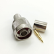 N Type Male Crimp Connector for RG8 LMR400 Cable