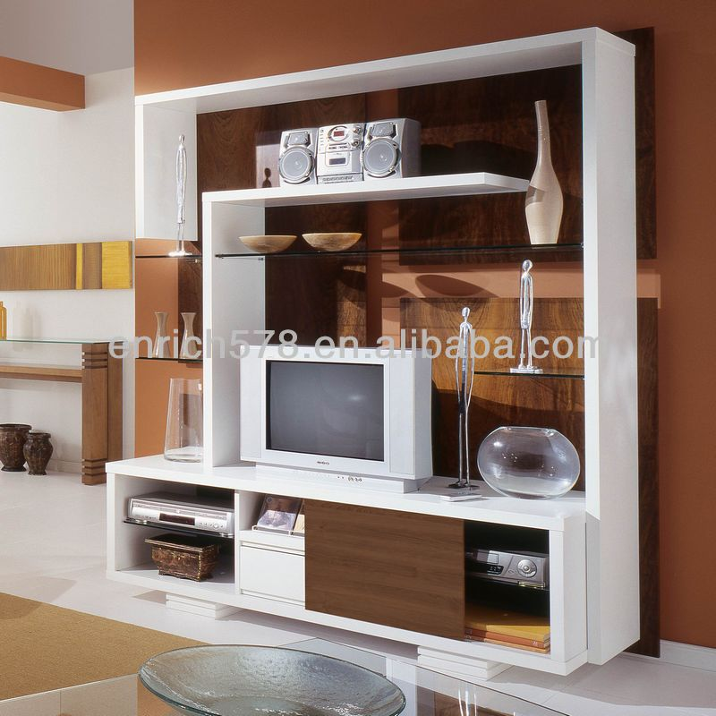 Tv Lcd Wooden Cabinet Designs