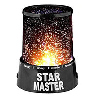 Goldmore 3AAA battery powered star night light, romantic sky projection lamp kids gift