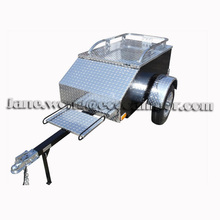 Lightweight Enclosed Motorcycle Cargo Trailer For Sale