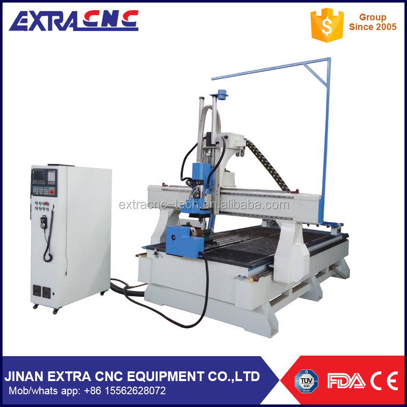 New machine 2016 3d atc cnc router for wood ,1325 1530 2030 2060 cnc router machine with 8 tools auto tool change