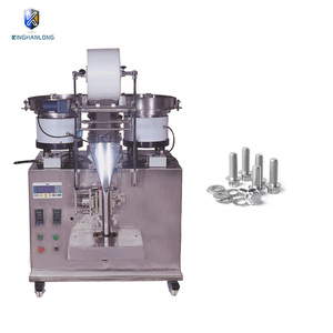 Automatic fasteners packing packaging machine