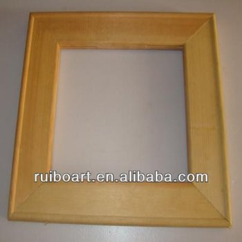 canvas wooden frame making