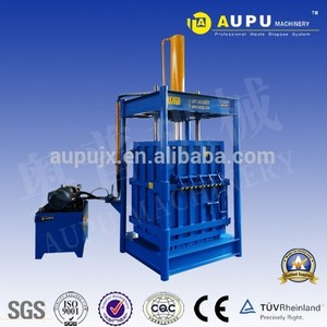 Hydraulic Manual Vertical Scrap Metal Recycling Baler Machine