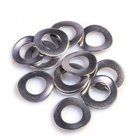 stainless steel 304 wave washers/wave single coil spring lock washer