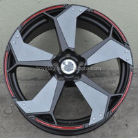 Wholesale aluminum alloy wheel rim/car rim, different color rims 849