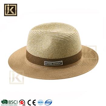 6ed17dd469f0f Jakijayi marca barato al por mayor venta caliente sombrero Panamá sombreros  de paja cowboy