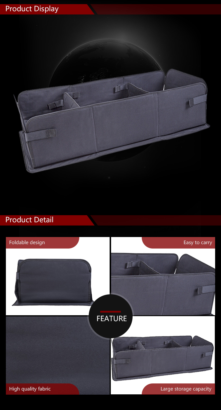 Perfect Easy-Use Folding Car Organizer Trunk