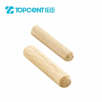 China Superb Screw Decorative Wood Dowel
