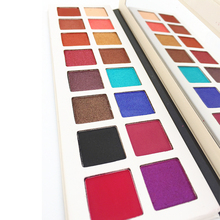 Make-up <span class=keywords><strong>cosmetica</strong></span> groothandel glitter oogschaduw OEM private label custom 16 color eyeshadow palette
