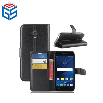 For Alcatel Raven Lte A574bl Premium Pu Leather Wallet Case Cover With Card  Holder - Buy For Alcatel Raven Ite A574bl,For Alcatel Raven Ite A574bl