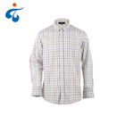 Custom oem wholesale comfortable fashion button down long sleeve plaids oem shirts