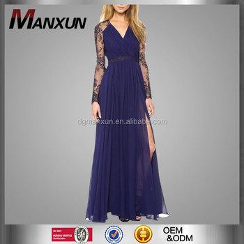 cocktail jurk paars