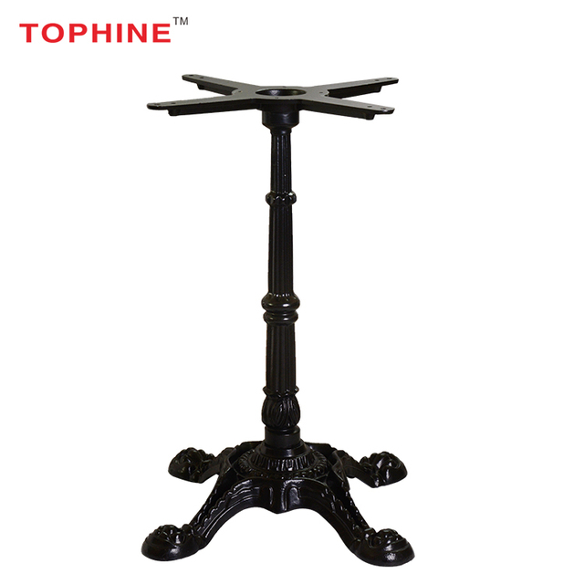 TOPHINE Furniture Black Antique Style Cast Iron Table Base / Coffee Table  Legs - Antique Furniture Leg Styles-Source Quality Antique Furniture Leg