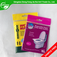 Safe and clean disposable toilet seat cover paper for travel