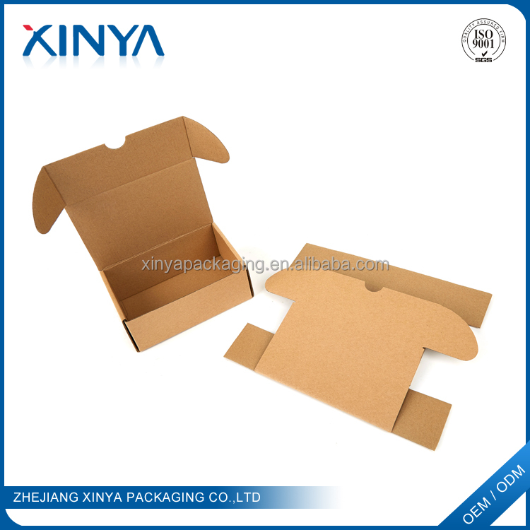 XINYA China Suppliers Custom Logo Shipping Corrugated Cardboard Boxes For Packing