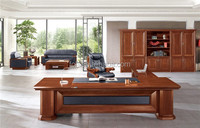 Solid Wooden Office Desk With Hutch (FOHBP-321)