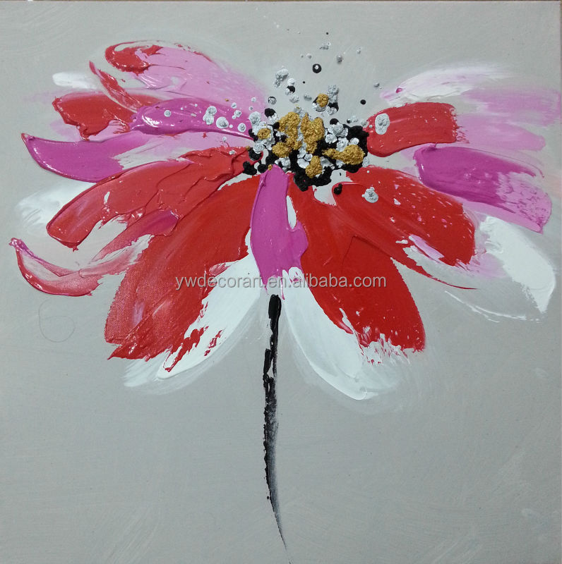 Famous abstract art flower painting,abstract oil painting large quantities of high-quality images