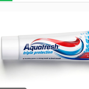 OEM cheap Private Label brand Fluoride Whitening Aquafresh Toothpaste MANUFACTURE