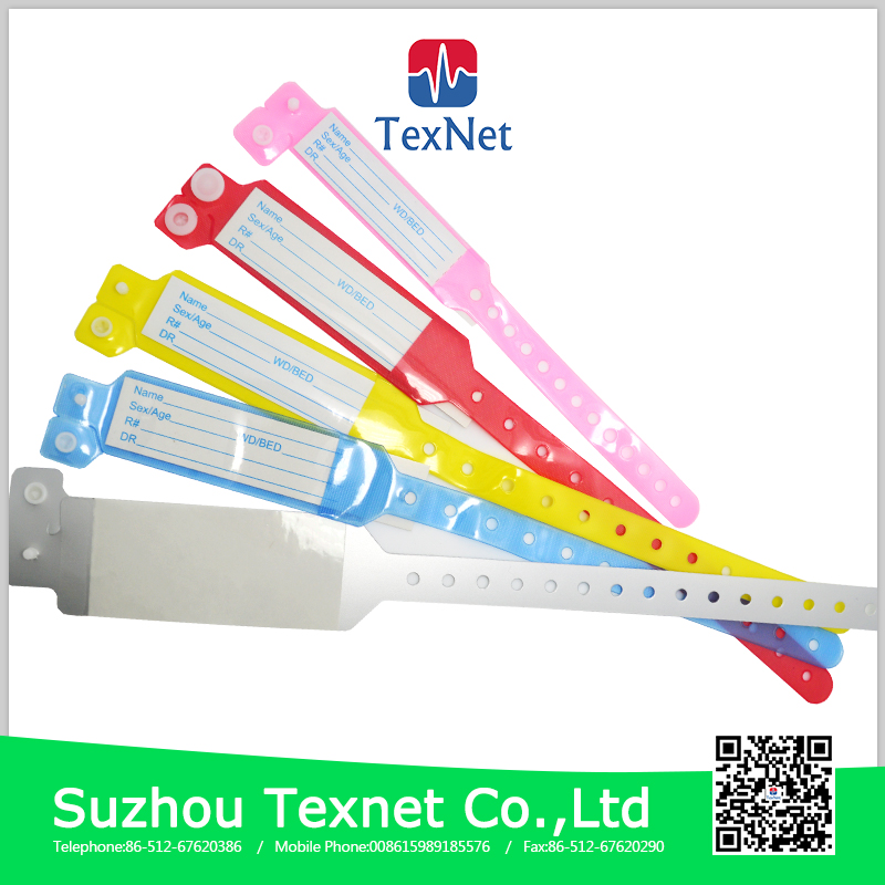 Texnet Hospital Patient Id Wristbands Baby Medical Id Wristbands