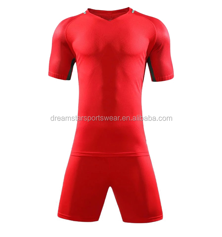 Cheap Price Custom Soccer Uniform Plain Training Jersey