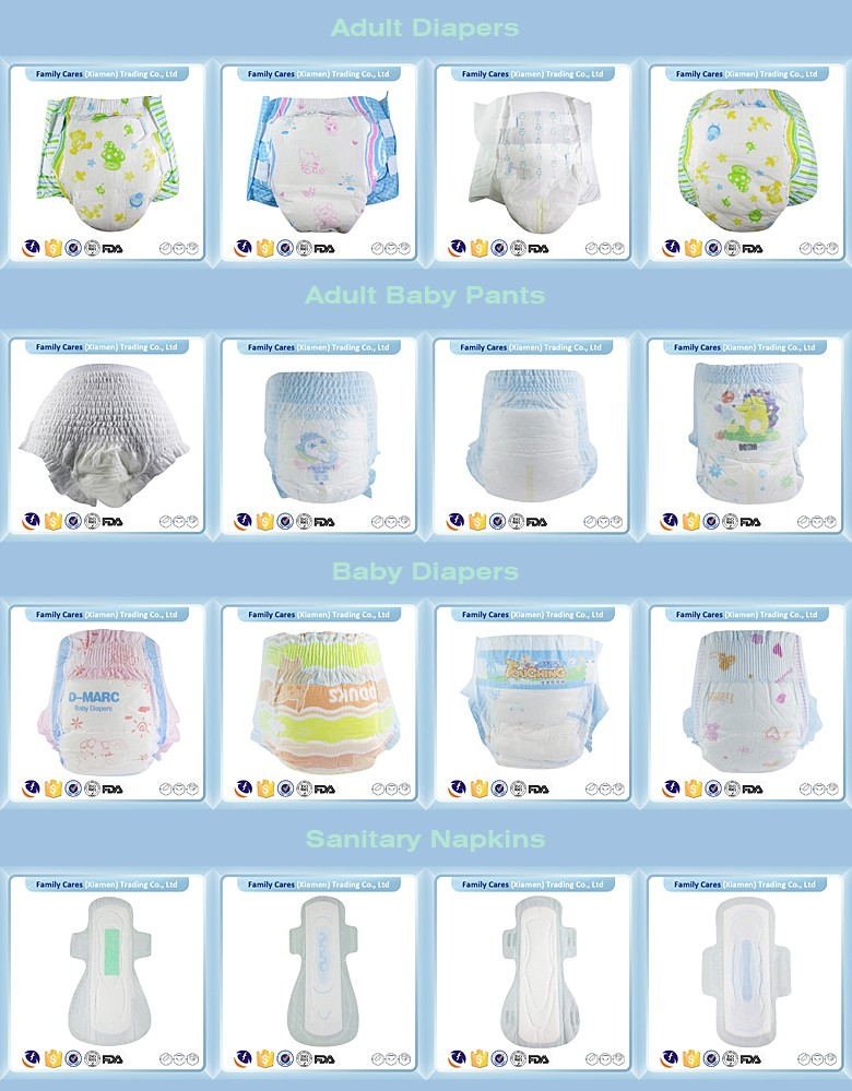FDA Premium Quality baby products Soft Cloth-like disposable baby diapers