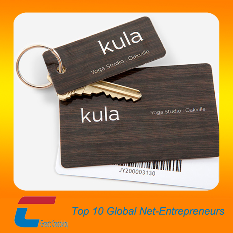 Plastic Vip Cards Factory Supply Plastic Keychain Cards With Hole ...