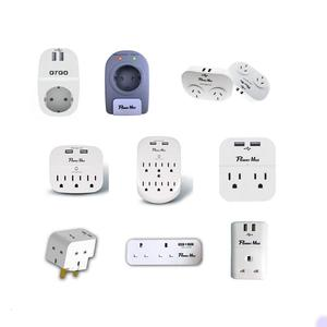 uk us to eu ac power socket plug electric socket triple wall german electrical products
