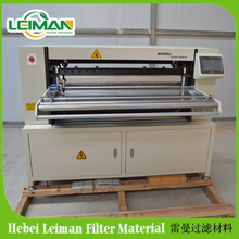 LMCZ55-1050- II car/truck air filter production line/knife pleating machine