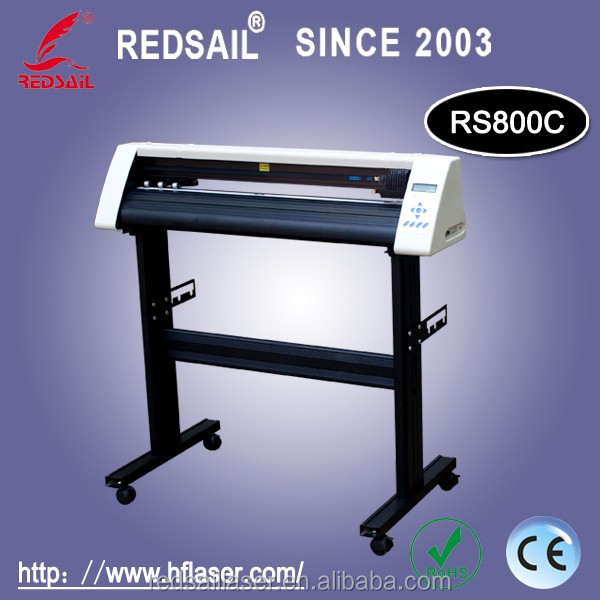 Redsail new cutting plotter RS800C with English software factory price