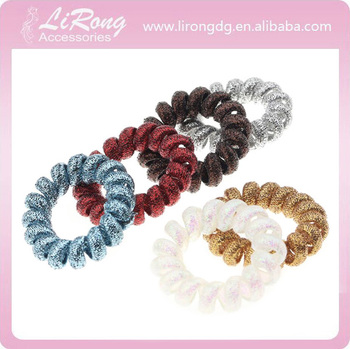 Popular Color Gold Wire Telephone Line Hair Bands 5a49f3b45e9