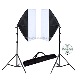 photographic light kit with soft boxes photo studio kit