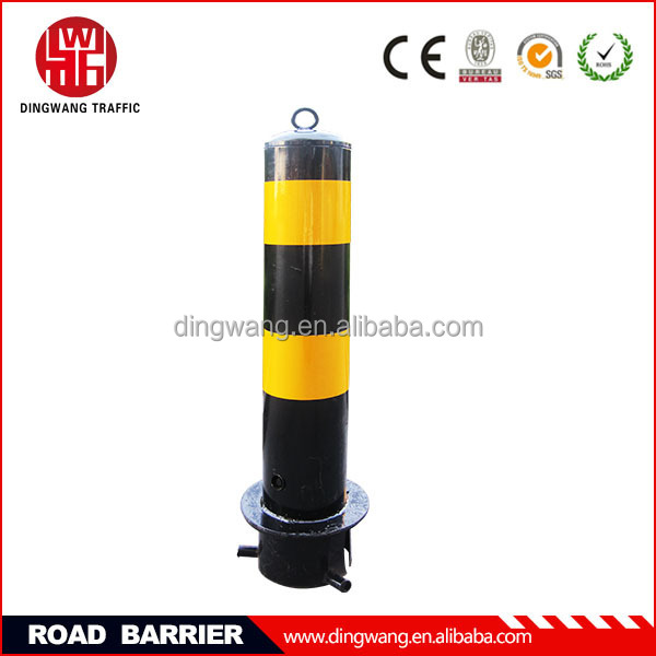 Base fixed underground road block barriers