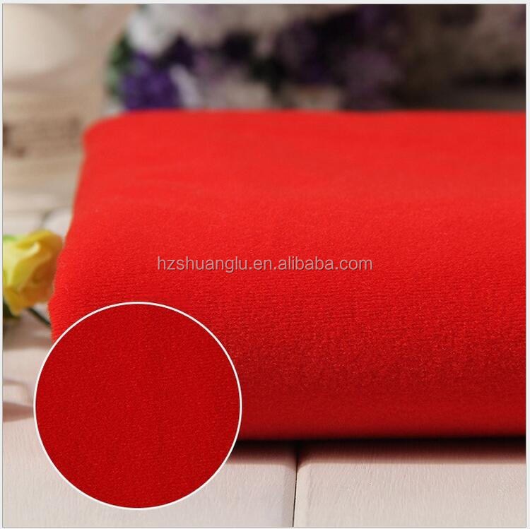 2015 China high quality low price loop velvet car body cover fabric