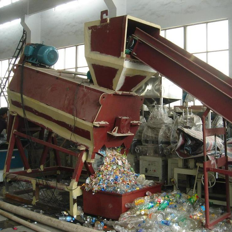 Kunststoff-Recycling-Maschine