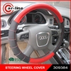2016 newest design hot selling 38cm PVC AUTO CAR STEERING WHEEL COVER
